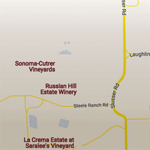Sonoma Cutrer Map