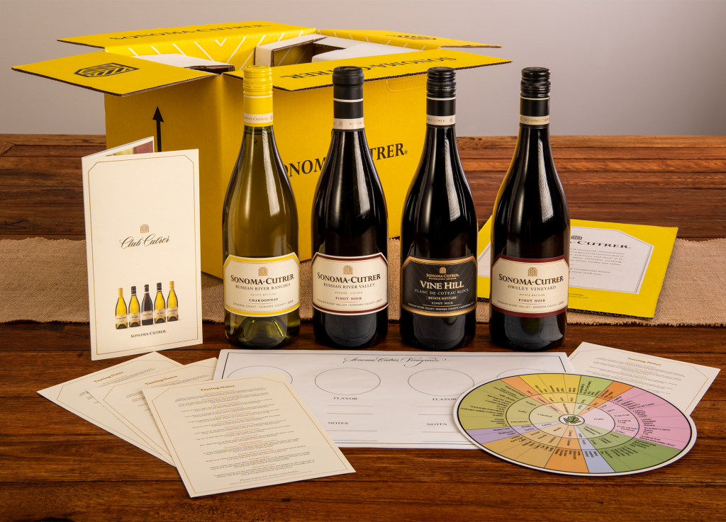 Sonoma Sampler Virtual Tasting Kit